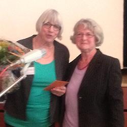 Die AEF hat eine neue Präsidentin: Rosmarie Weber übernimmt das Präsidium von Liselotte Fueter.