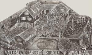 Titelbild des 48. Jahresberichts 1957 der Sektion Aargau des Schweizerischen Evangelischen Verbandes Frauenhilfe